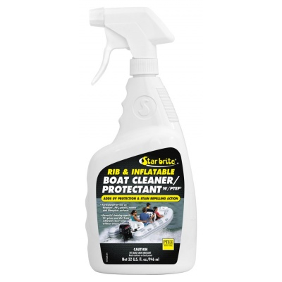 97232 rib & inflatable boat cleaner & protector with ptef 950 ml starbrite